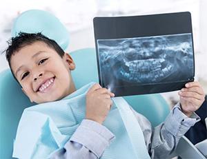 Рентген зубов у детей